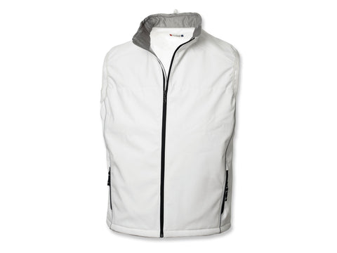 Clique/New Wave Men's Softshell Vest, Off White XXXXL