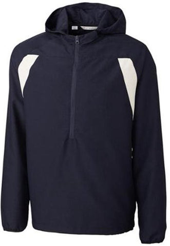 Cutter & Buck Men's Navy Blue Medium Anorak 1/2 Zip Jacket