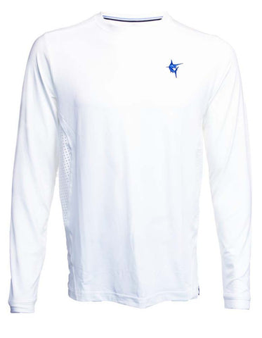 White Water X-Large White Grand Slam Breathable Long Sleeve Shirt