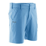 "Huk Men's Next Level 7"" Carolina Blue Small Performance Fishing Shorts"