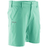 "Huk Men's Next Level 7"" Julep Small Performance Fishing Shorts"