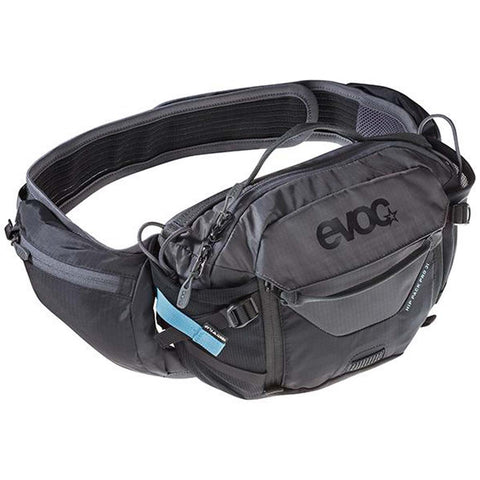 Evoc Hip Pack Pro 3L Black/Carbon Grey without bladder