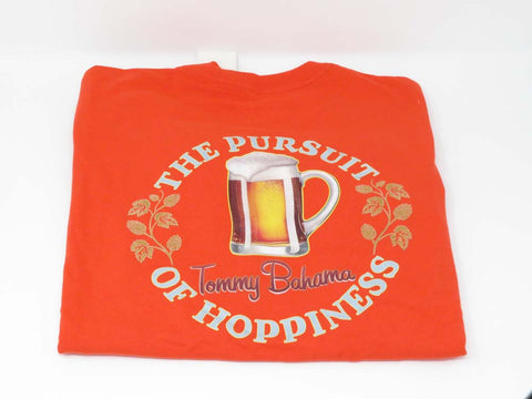 Lowest Price Tommy Bahama Pursuit of Hoppiness Medium Blaze Orange T-Shirt    24.99. Free Shipping. Free Returns. Sports by Sager. b974ad866