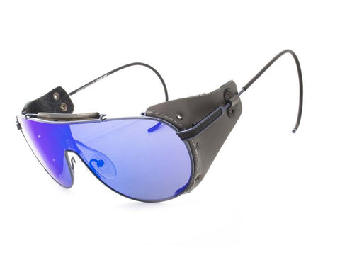 Peppers Polarized Sunglasses Big Sky Pewter Grey with Ocean Blue Lens Sunglasses