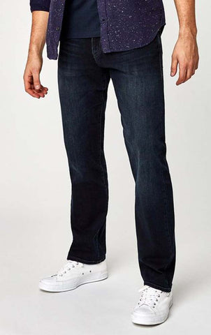 Mavi Men's Matt Size 31/32 Relaxed Fit Ink Williamsburg Straight Leg Jeans