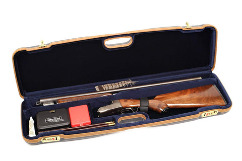 Negrini 1605LX/5138 Shotgun Travel Case for O/U SXS/1 Gun/1 Barrel up to 30.5""