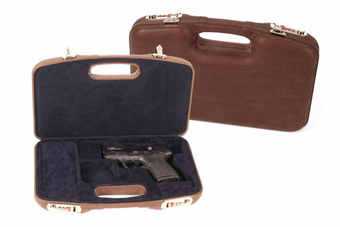 Negrini Luxury Leather Dedicated Pistol Deluxe Travel Case 2028SPL/5542