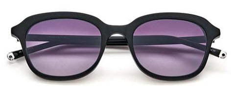 Paradigm 19-41 Sunglasses Plastic Black Frame Purple Lens