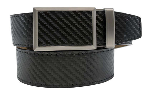 Nexbelt Fast Eddie Beveled Carbon Black 2.0 Strap Belt