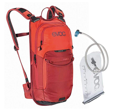 Evoc Stage 6L + 2L Hydration Backpack Bladder Included Orange/Chili Red