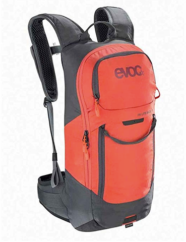 Evoc FR Lite Race Protector Backpack 10L Carbon Grey/Orange ML
