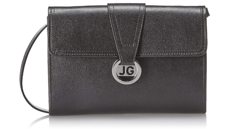 Jack Georges Chelsea Wallet With Strap Black