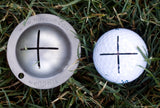 Tin Cup Sharpshooter Golf Ball Custom Marker  Alignment Tool