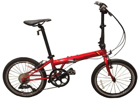 Dahon 2019 Speed D9 Red Folding Bicycle