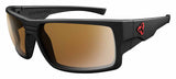 Ryders Eyewear Thorn Black Matte Frame Brown FM Lens Sunglasses