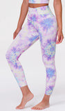 Onzie High Rise Tie Dye Medium/Large Midi Leggings