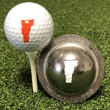 Tin Cup Vermont State Golf Ball Custom Marker Alignment Tool