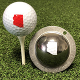 Tin Cup Arizona State Golf Ball Custom Marker Alignment Tool