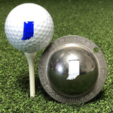 Tin Cup Indiana State Golf Ball Custom Marker Alignment Tool