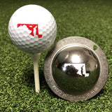 Tin Cup Maryland State Golf Ball Custom Marker Alignment Tool