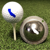 Tin Cup California State Golf Ball Custom Marker Alignment Tool