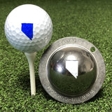Tin Cup Nevada State Golf Ball Custom Marker Alignment Tool