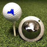 Tin Cup New York State Golf Ball Custom Marker Alignment Tool