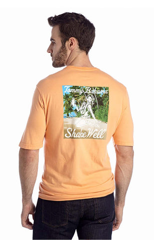 Tommy Bahama Shake Well Small Apricot T Shirt