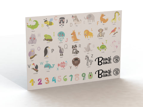 Sticker Pack - Animal Alphabet