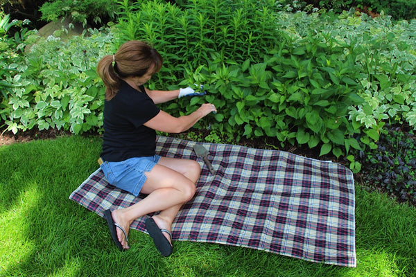 Garden Mat 60X60 Plaid
