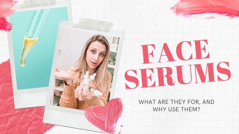 FACE SERUMS! What are they, are they necessary, and what do they do?