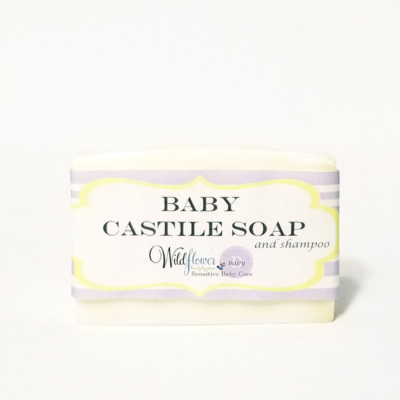 Baby Castile Soap & Shampoo - All natural