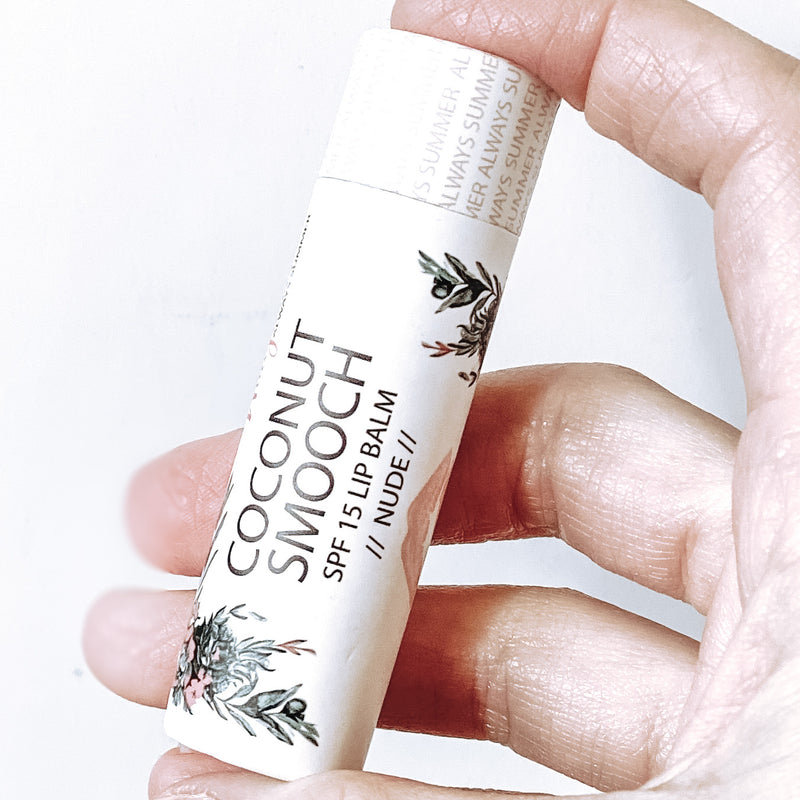 SPF Coconut Smooch Lip Balm