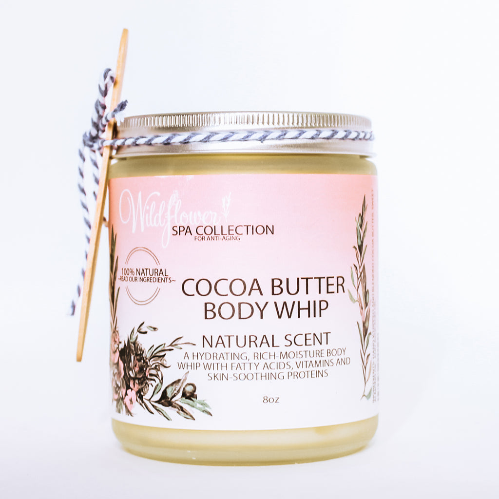 Cocoa Butter Body Whip - Multiple Scents