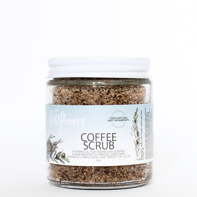 Coffee Scrub - Face & Body Exfoliating Sugar Scrub
