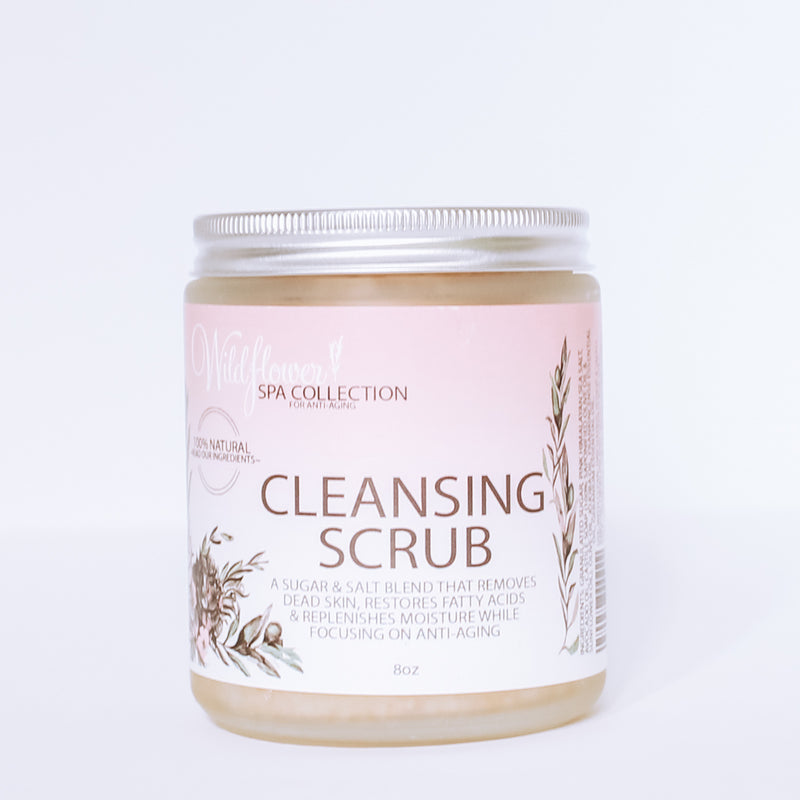 Cleansing Scrub - Anti-Aging Spa Collection