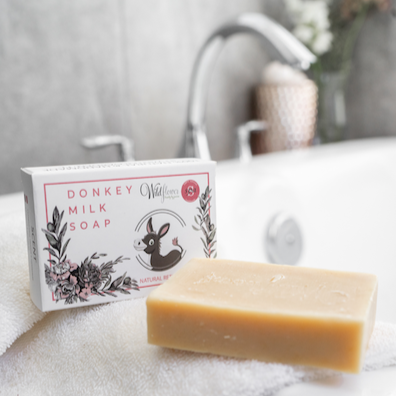 Donkey Milk Soap - Frankincense, Orange & Grapefruit