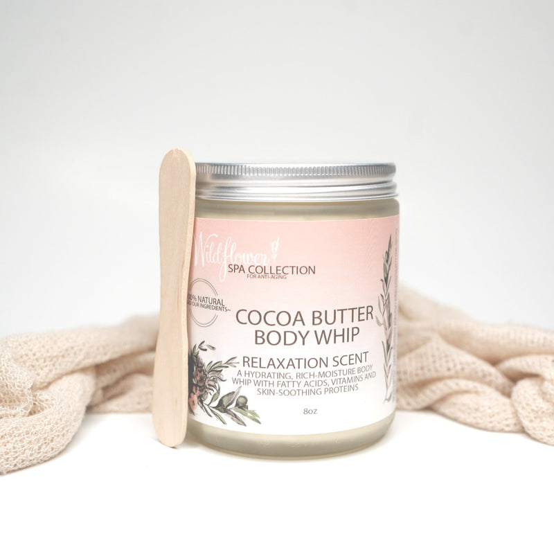 Cocoa Butter Body Whip - Multiple Scents - Cocoa Butter Lotion