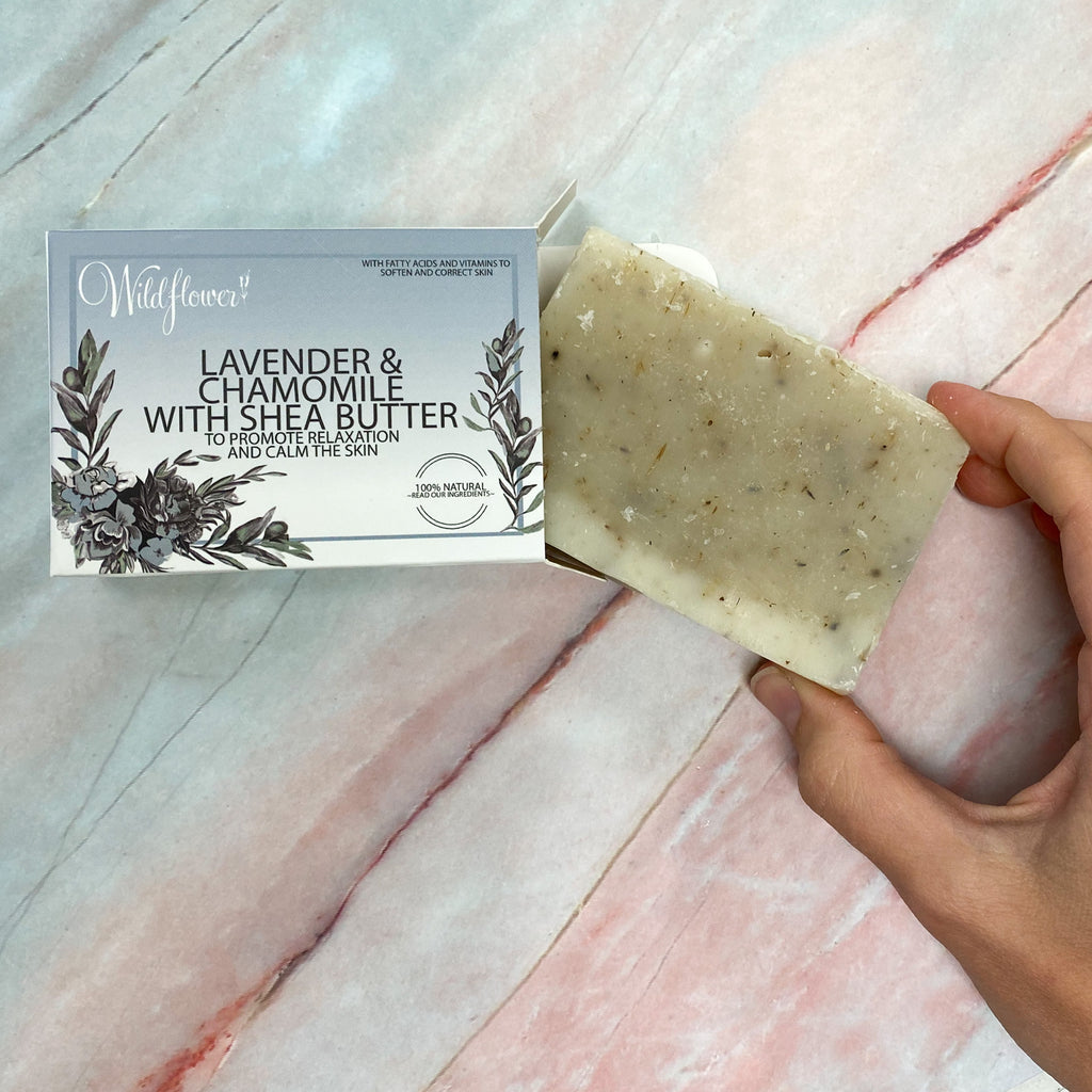 Shea Butter Lavender & Chamomile Bar Soap