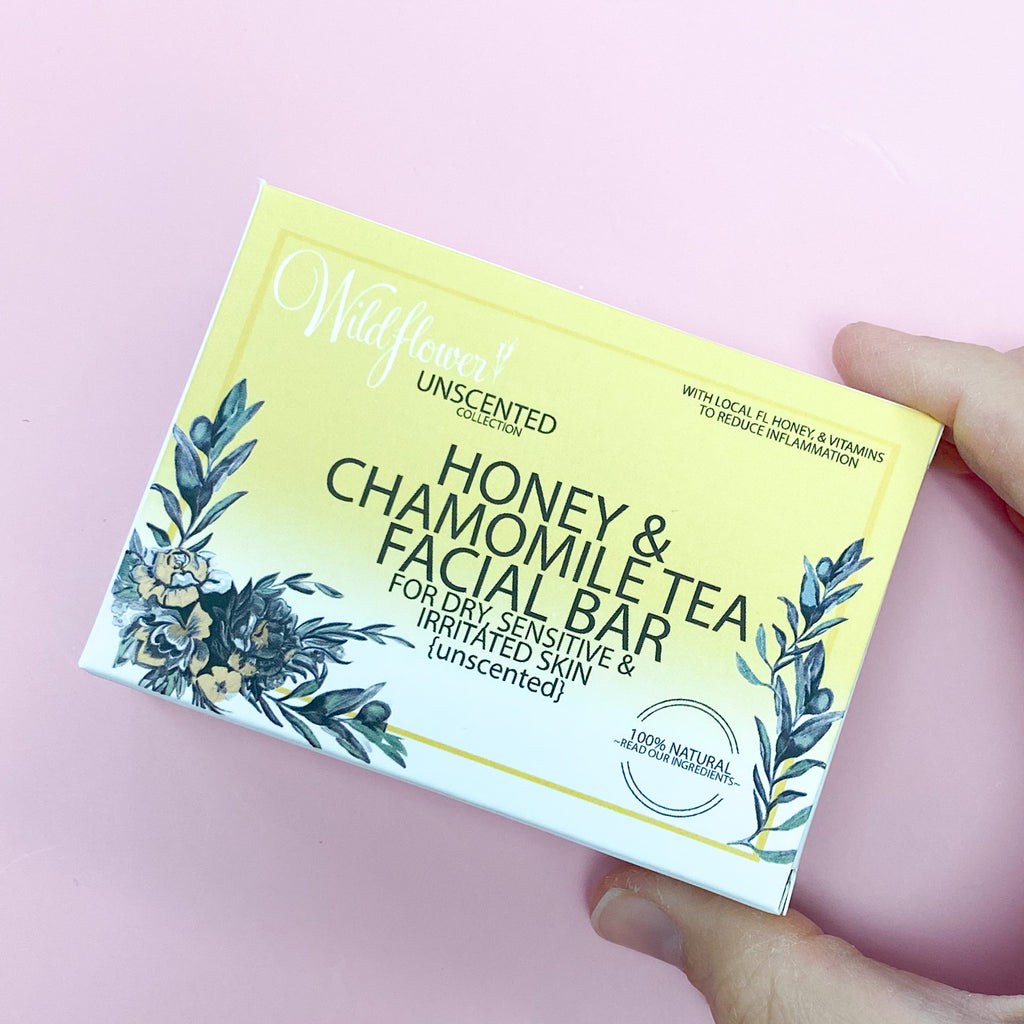 Honey & Chamomile Tea Facial Bar Soap