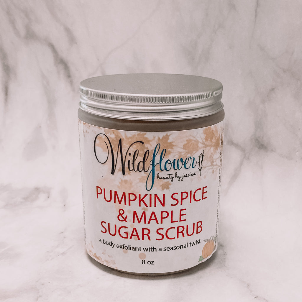 Pumpkin Spice & Maple Sugar Scrub