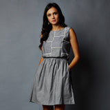 Patchwork Bodice Dress