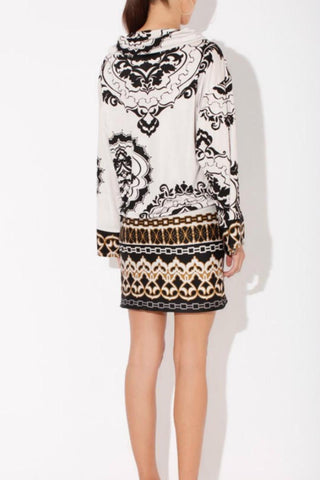 Hale Bob Winter Floral Dress