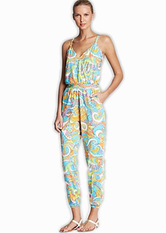 Trina Turk Cosmo Jumpsuit Cover Up
