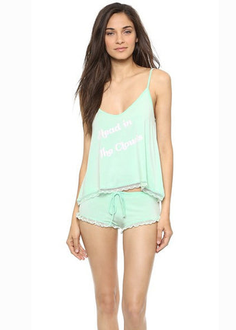 Wildfox Head In The Clouds Sleep Set