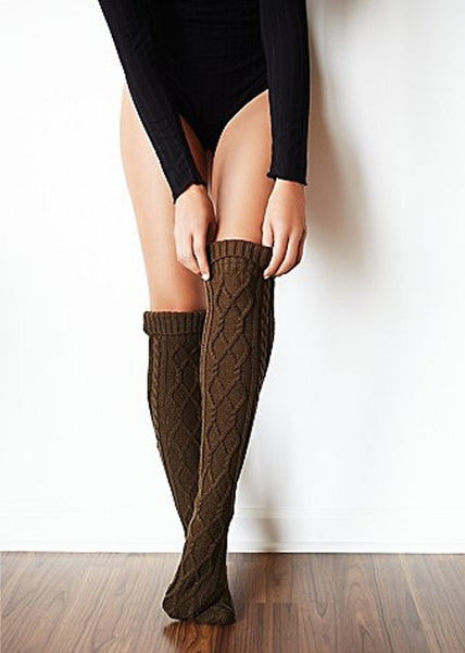 Free People Cable Knit Socks
