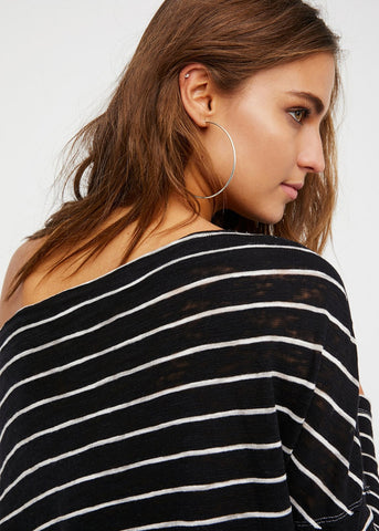 Free People Striped Love Lane Tee