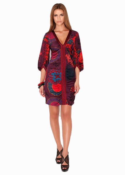 Hale Bob Ruched Dress