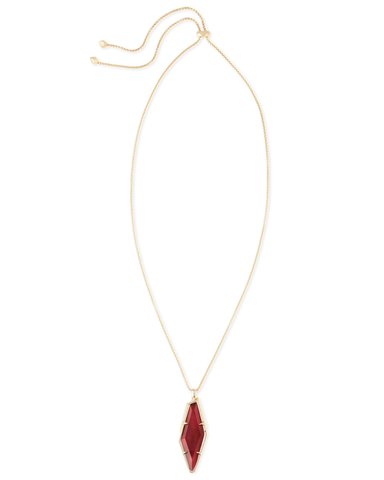 Kendra Scott Beatrice Necklace Burgundy Illusion