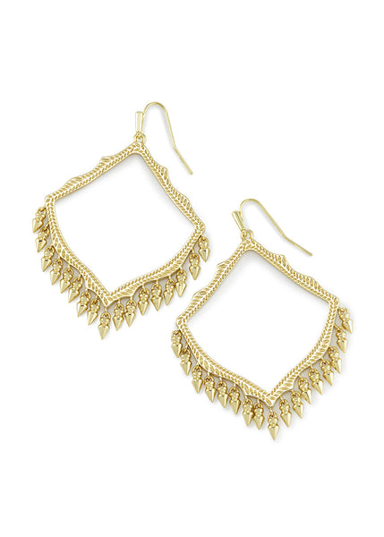 Kendra Scott Lacy Earrings Gold